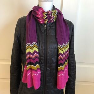 MISSONI for Target Collection Colored Scarf
